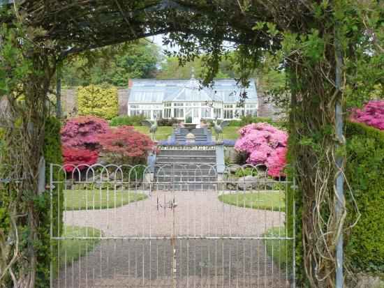 Barnstaple, UK: Entrance to the gardens