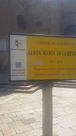 Basilica di Santa Maria di Campagna - Piacenza.