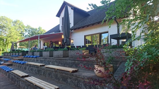 Dreieich, Alemania: Ein Blick auf das Restaurant.