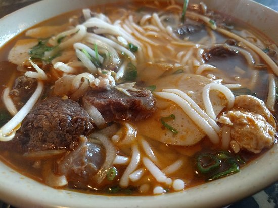 Bún bò Huế is great. A must have.