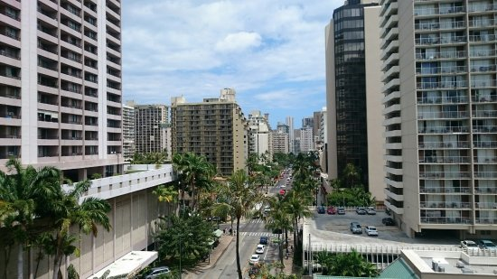 OHANA Waikiki Malia by Outrigger: 最上階でしたが海は見えません