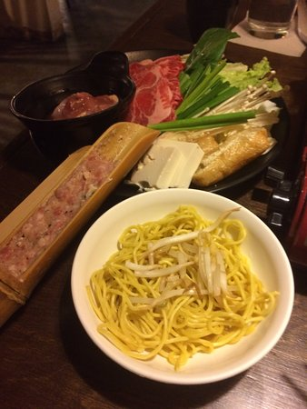 Ichiriki Japanese Nabe Restaurant : Happy Hour Special - Niku Chanko food set