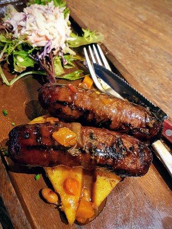 North Ryde, Australia: Grilled sausages