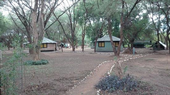 Kapoeta, South Sudan: Tukuls en tenten