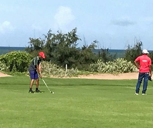 Hambantota, Sri Lanka: Golf Course -18th Hole