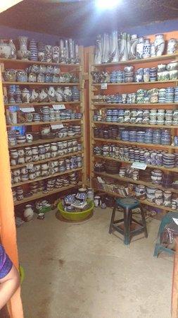 Ceramica Multicolor: storerooms