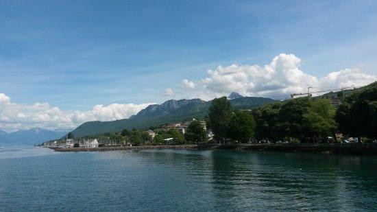 Évian-les-Bains, Frankreich: Départ d'Evian vers Lausanne