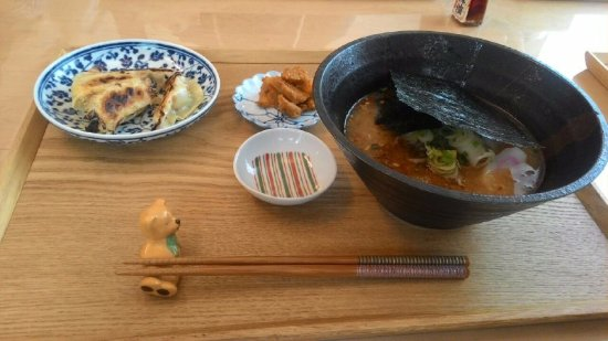 Arakawa, ญี่ปุ่น: This is the ramen that I prepared!! Looked like it's coming straight out of Ramen house :)