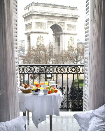 In Room Breakfast Picture Of Hotel Splendid Etoile Paris