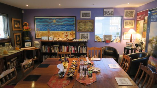 New Norfolk, Australia: Breakfast room
