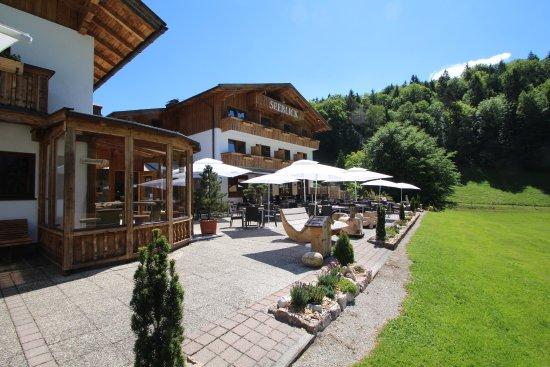Hotel Pension Seeblick: unsere Terrasse