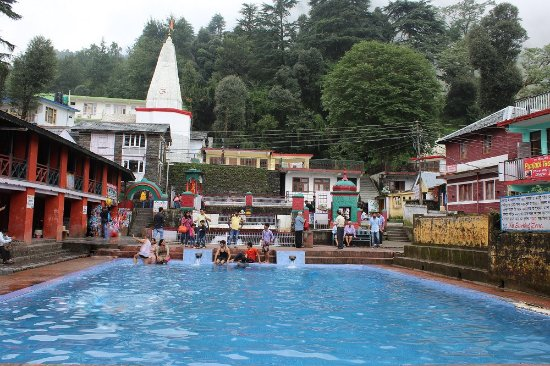 Pool at bhagsu nag temple area picture of bhagsunath - Hotels in dharamshala with swimming pool ...