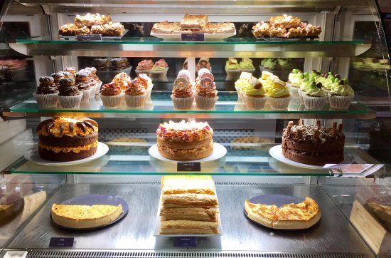 Burton upon Trent, UK: Delicious selection of homemade cakes