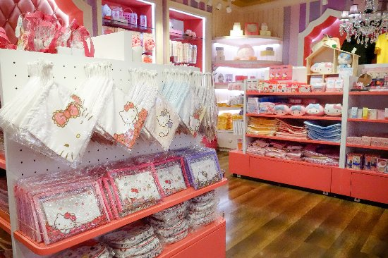 Hello Kitty House hello kitty merchandise store - picture of hello kitty house