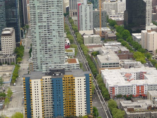 seattle downtown view from the space needle picture of worldmark rh tripadvisor com