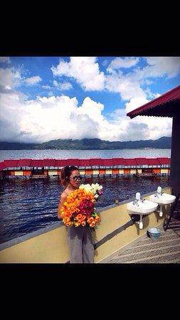 Branded new restaurant RM 'Pemandangan Danau Tondano'
