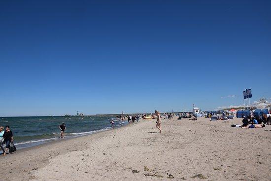 Warnemnde, Jerman: Warnemunde Beach