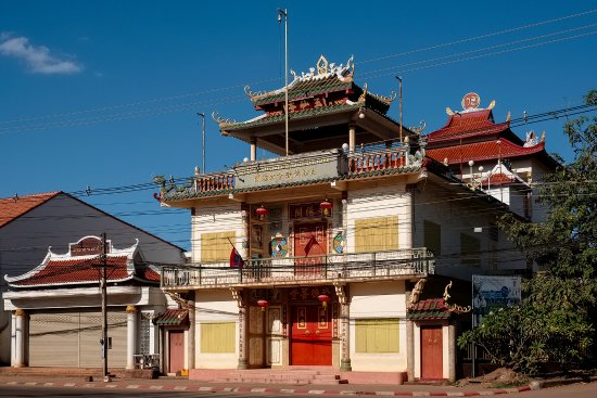 Pakse, Laos: Chinese Temple