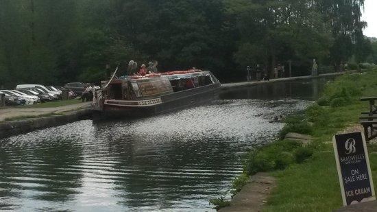 Matlock, UK: Your barge
