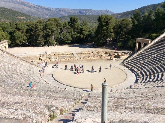 Nauplia, Grecia: Photo from our trip to Epidaurus and Mycenae