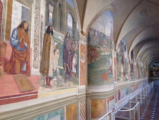 Asciano, Italië: Monte Oliveto Maggiore 3