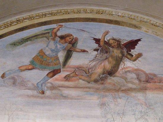 Asciano, Italië: Monte Oliveto Maggiore 7