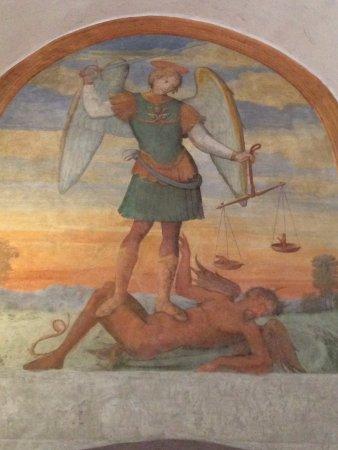 Asciano, Italië: Monte Oliveto Maggiore 8