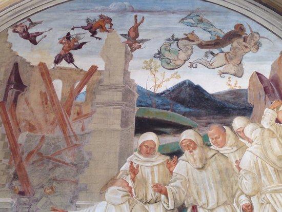 Asciano, Italien: Monte Oliveto Maggiore 10