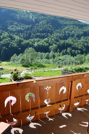 Bois de Reves : Petit balcon commun aux chambres