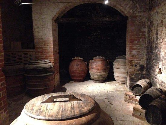 Asciano, Italien: Monte Oliveto Maggiore 13