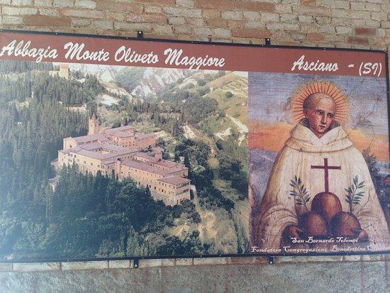 Asciano, Italien: Monte Oliveto Maggiore 14
