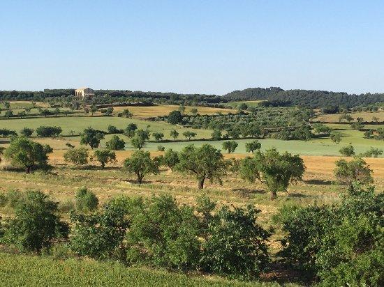 Bierge, Ισπανία: vista desde la habitación 2014