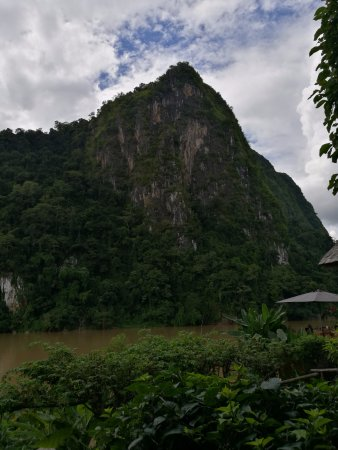 Nong Khiaw, Laos: View from our room