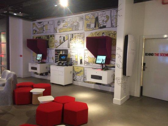 Ixelles, Bélgica: Des ordinateurs dans tous les coins !