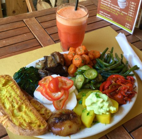 Pranzo all' aperto anche vegetariano o vegano a Casale sul Sile,Treviso...menù naturale11€