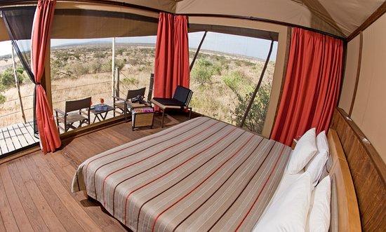 بيس كامب إيجل فيو: Eagle View tent interior