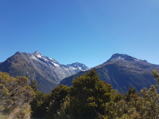 Milford, Новая Зеландия: Ausblick