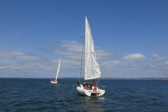 Voile Horizons: 2 des trois bateaux loués.