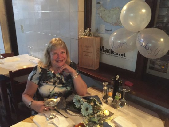 Paul do Mar, Portugal: My birthday at Restaurant Xama