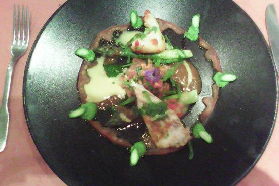 Les Angles, Frankrijk: Assiette poisson et homard