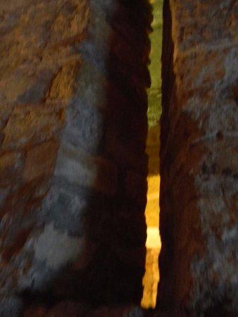 Meurtrières défensives dans le chateau