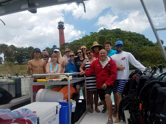 Jupiter, FL: Great Day on the Water!