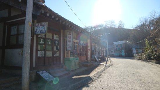 Suncheon, South Korea: deretan pertokoan