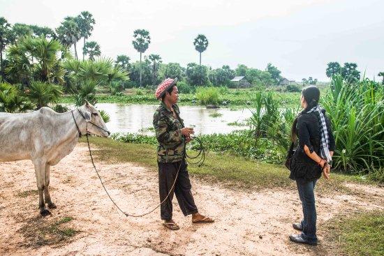 Kampong Thom, Cambodia: éleveur