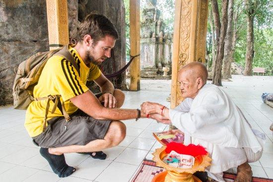 Kampong Thom, Cambodia: visite du temple
