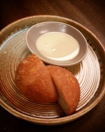 Wolli Creek, Australia: Deep fried bao buns with condensed milk