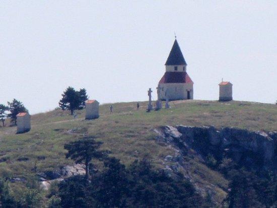 Nitra, Slovakiet: kalvaria