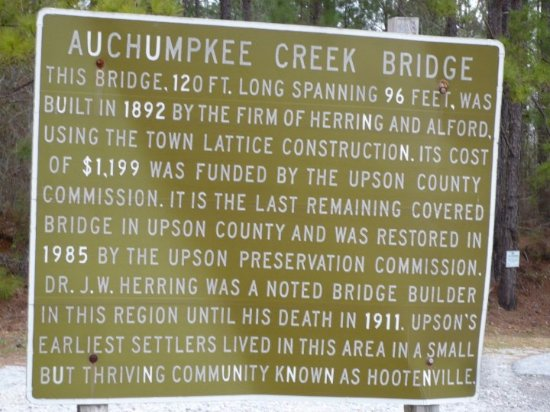Thomaston, GA: Auchumpkee Creek