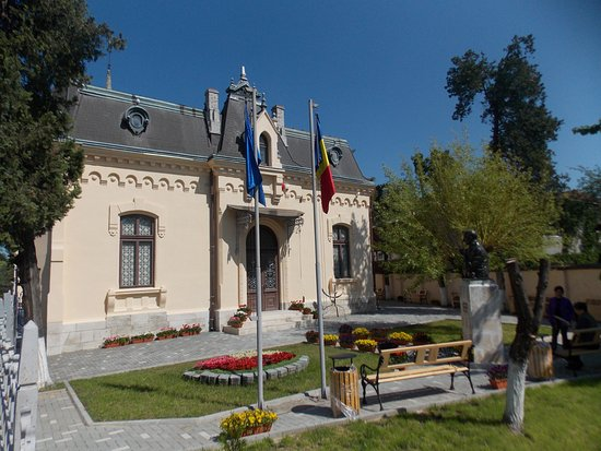 Ploiesti, Romania: The restored building of the museum