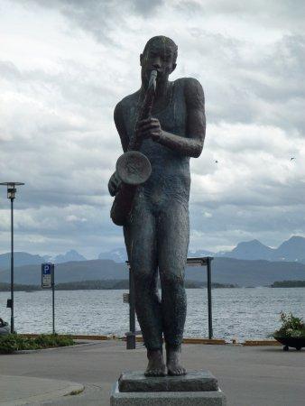 Molde, Noorwegen: Сыграй, музыкант!!!